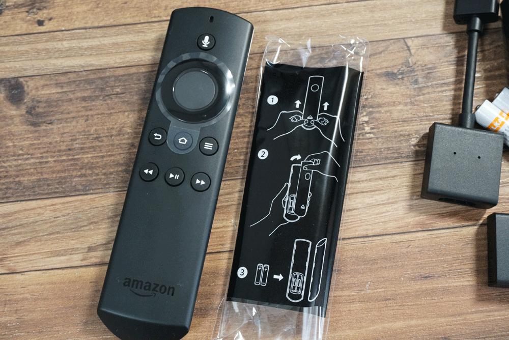 Amazonの新型Fire TV Stick(ファイヤーステックTV)音声リモコン
